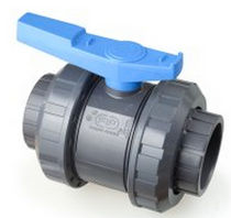 2-way plastic ball valve DN 65 - 100 | VE-PVC series FIP - Formatura Iniezione Polimeri