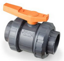 2-way plastic ball valve DN 65 - 100 | VX-PVC FIP - Formatura Iniezione Polimeri