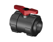 2-way plastic ball valve DN25 - DN50 | 1003 SAFI