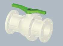 2-way plastic ball valve DN150 | 2029 SAFI