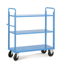 Storage cart / shelf / multipurpose / with swivel casters