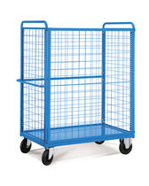 Transport cart / shelf / wire mesh platform / multipurpose