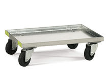 Transport cart / platform / multipurpose / steel