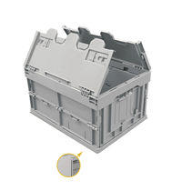 Folding container / plastic / storage