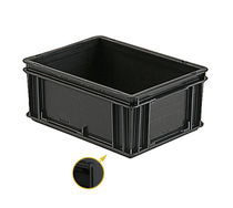 Stacking container / plastic / storage / anti-static