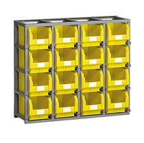 Single-sided shelving / bin