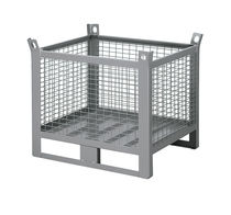 Metal pallet box / wire mesh