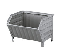 Galvanized steel crate / storage / stacking