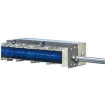 Gas burner / linear / low-emission