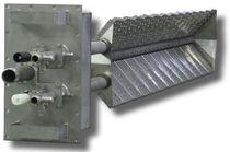 Gas burner / duct / low-NOx