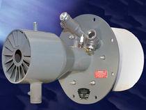 Gas burner / nozzle mix / low-emission