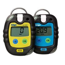 Single gas detector / digital / individual