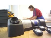 Calibration and bump test docking station for gas detector