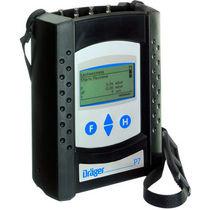 Gas analyzer / pressure / portable