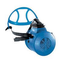 Respiratory half-mask / single-filter
