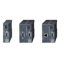 PLC with integrated I/O / RS485 / Ethernet / modular