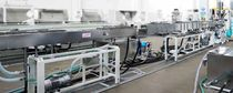 Tube extrusion line / for PP / for PVC / for medical applications