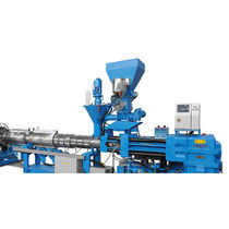 Tube extrusion line / for PP / for PVC / for PE
