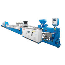 Profile extrusion line / for PVC / for PMMA / for ABS