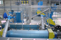 Solvent washing machine / water / automatic / for the recycling industry