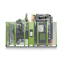 Vertical injection molding machine / hydraulic
