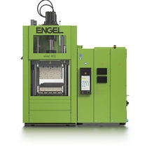 Vertical injection molding machine / hydraulic / for elastomers / LSR