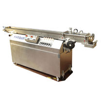 Vacuum calibration tank / for extrusion / for pipes / for profiles