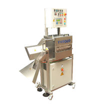 Metal cutting machine / knife / for tubes / PLC-controlled