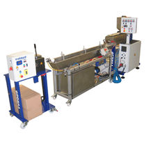 Pelletizing extrusion line / for thermoplastics