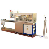 Metal cutting machine / guillotine / for tubes / PLC-controlled