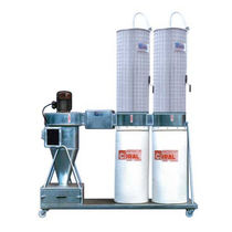Inertial separator dust collector / mobile