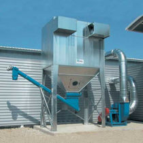 Bag dust collector / mechanical shaker cleaning / modular / for wood dust