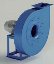 Radial fan / rugged / industrial / for pneumatic conveying
