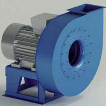 Centrifugal fan / drying / high-pressure / backward curved