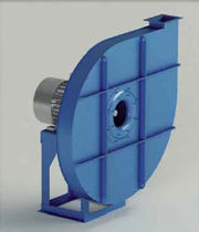 Centrifugal fan / drying / high-pressure / industrial