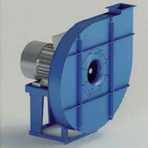 Centrifugal fan / drying / high-pressure / rugged