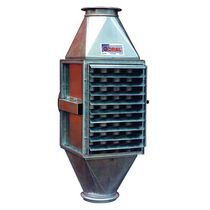 Shell and tube heat exchanger / air/water