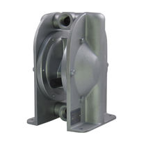 Diaphragm pump / for abrasive liquids / pneumatic