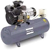Air compressor / stationary / piston / oil-lubricated