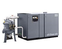 Rotary drum air dryer