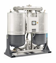 Heat regenerative adsorption compressed air dryer / high-performance / blower purge
