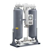 Heat regenerative adsorption compressed air dryer / blower purge