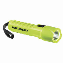 LED flashlight / work / rechargeable / ATEX