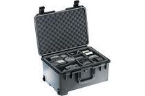 Transport suitcase / plastic / wheeled / waterproof