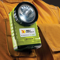 LED flashlight / for hazardous areas / rechargeable / ATEX