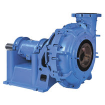 Slurry pump / centrifugal / elastomer-lined / chemical process