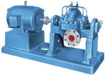 Acid pump / electric / centrifugal / two-stage