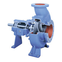 Electric pump / centrifugal / for paper stock / chemical process
