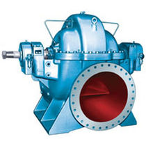 Water pump / centrifugal / double-aspiration / single-stage
