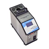Temperature calibrator / for RTD sensors / for thermocouples / desk